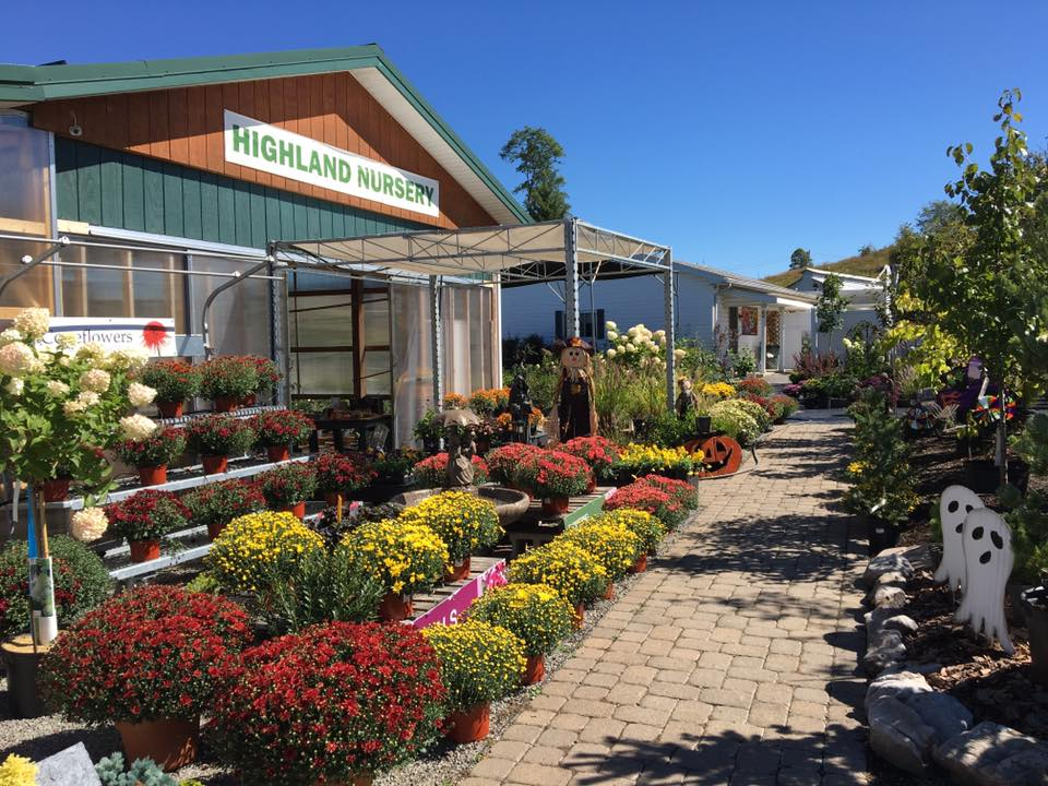 Highland Nursery Trees, Flowers and Shrubs