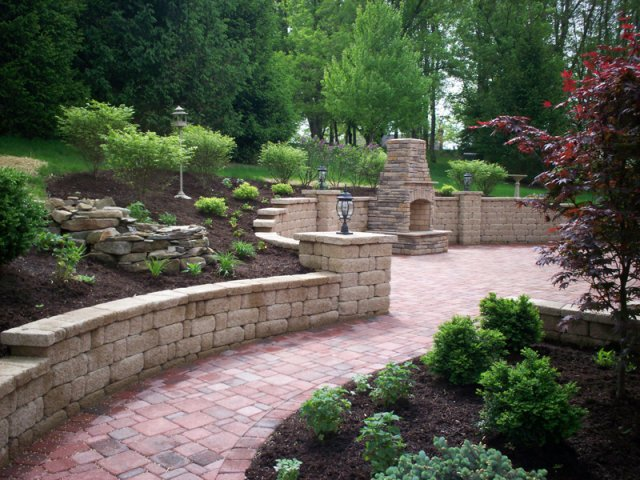 landscape design project by Highland Landscaping